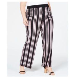 INC International Concepts Striped Wide Leg Pants